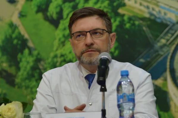 Алексей Кирсанов больше 20 лет работает в сфере здравоохранения