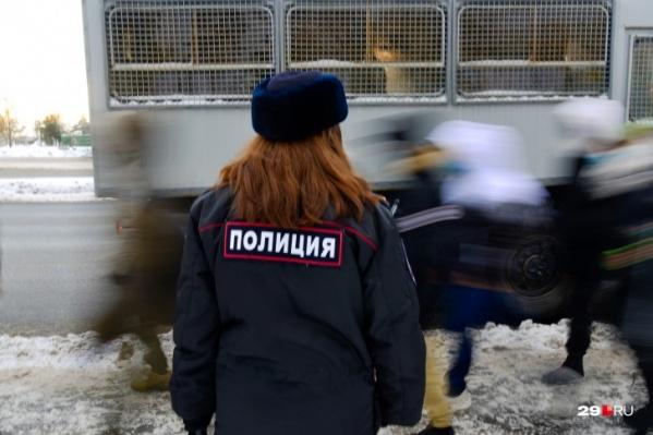 Последние крупные акции в поддержку Навального прошли в Архангельске в январе 2021-го