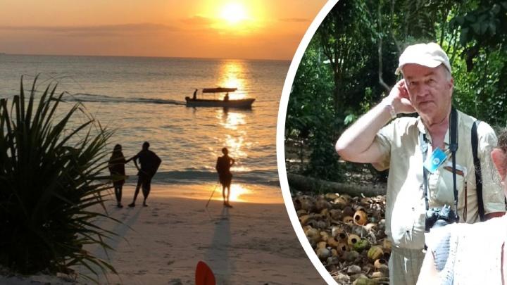 «Оставили на острове»: дочь пропавшего в Танзании южноуральца рассказала подробности его поисков