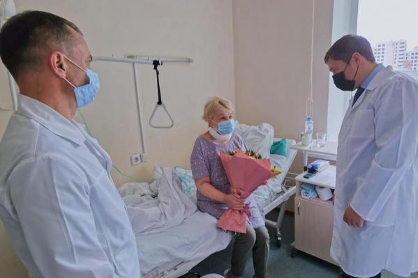Людмила Николаевна находится в Пермской краевой клинической больнице
