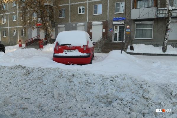В этом году Екатеринбург завалило снегом