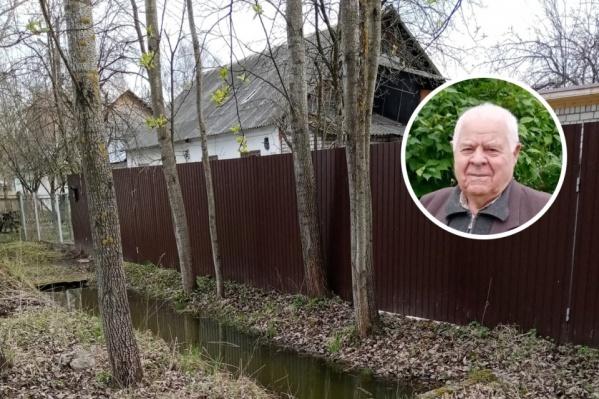 Дом ветерана заливало из-за проблем с ливневой канализацией