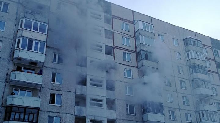 Три человека погибли во время пожара на Московском тракте