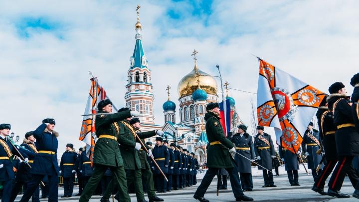 В Омске 23 февраля решили отказаться от парада