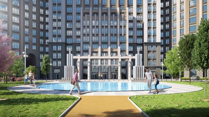 Шикарные террасы, пляжи и фонтаны: смотрим, где в ближайшее время появятся интересные жилые кварталы