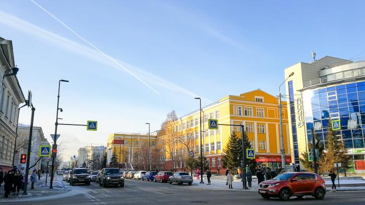В начале новой рабочей недели в Красноярск придут плюсовые температуры