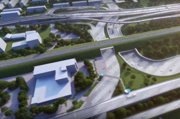 Строительство планируют завершить в 2023 году