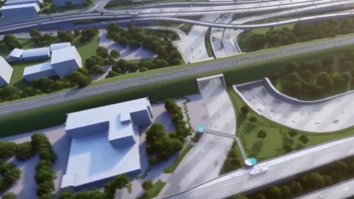 Концессионер показал, как будет выглядеть четвертый мост в Новосибирске. Публикуем фото