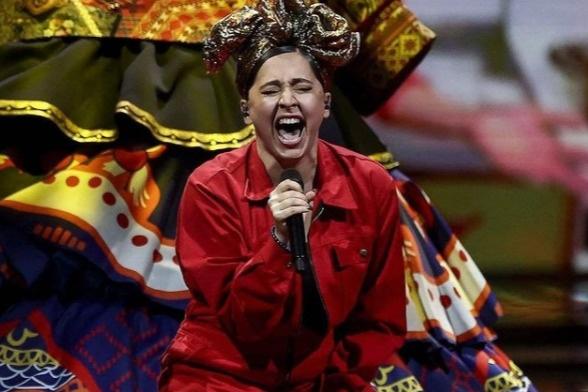 Манижа в этом году представляла Россию на Евровидении