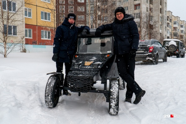 Андрей Зотиков и Антон Кушников около года делали свой КАЗ