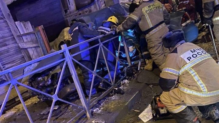 В МВД назвали предварительную причину смертельной аварии около Фрунзенского моста