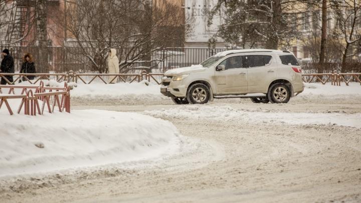 Вдали от дома мэра: как на самом деле чистят дороги в Ярославле. 17реалистичных фото