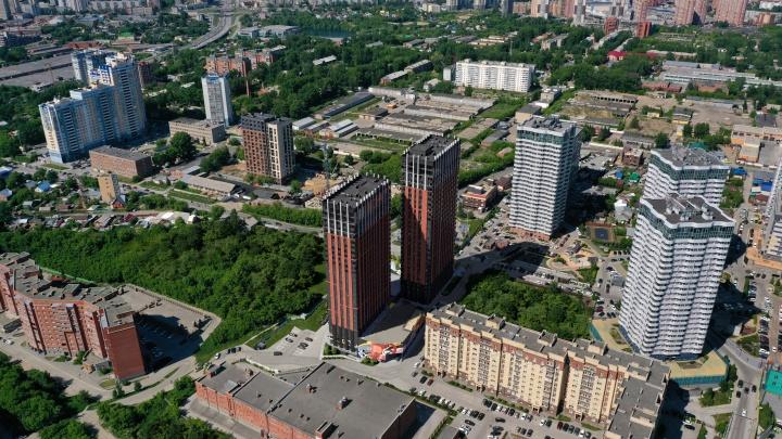 Новосибирские башни назвали лучшим жилым небоскребом