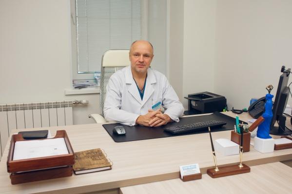 Анатолий Калиниченко, заместитель управляющего МЦСМ «Евромед» по хирургии, руководитель бариатрического отделения