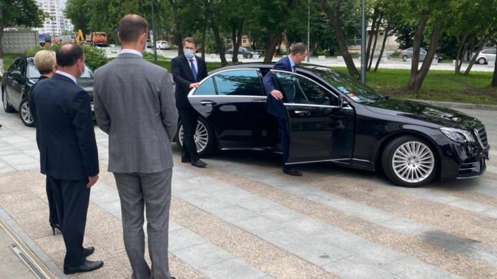 Министр здравоохранения РФ Михаил Мурашко приехал проверять больницы Екатеринбурга