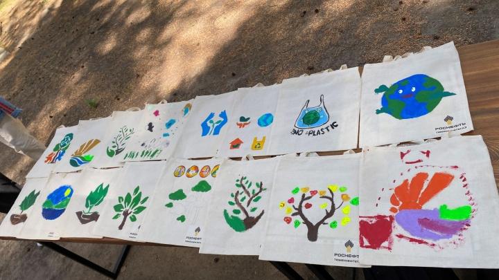 Ради сохранения планеты: «Тюменнефтегаз» провел необычный мастер-класс для своих сотрудников и их детей