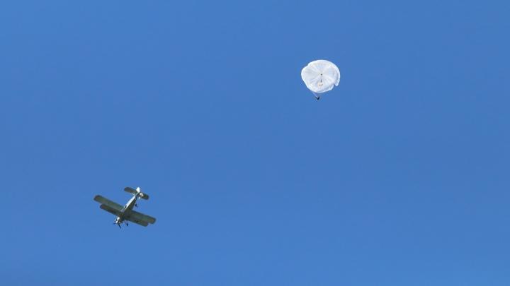«Быстро приближается земля»: архангелогородка рассказывает о своем первом прыжке с парашютом