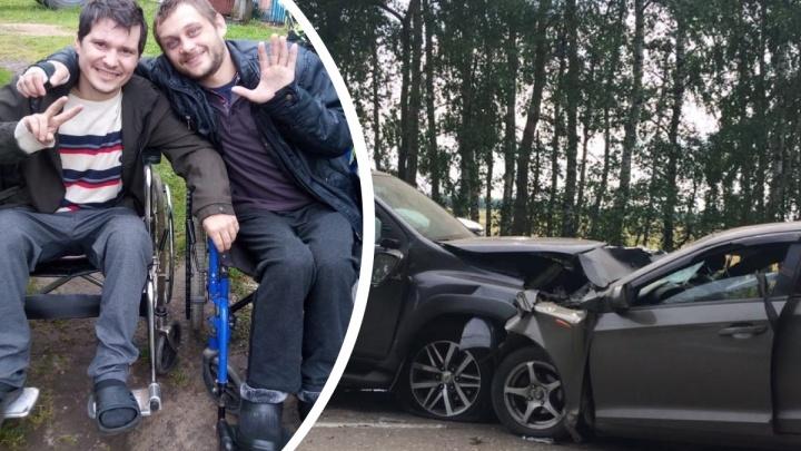 «Не узнавал жену и детей»: ярославец, оставшийся инвалидом после ДТП, рассказал, как всё было