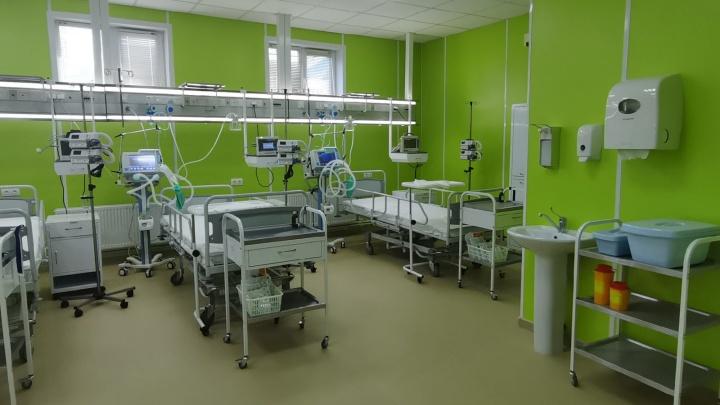 На исследование уйдет минута: в Медгородке открылся новый ковид-госпиталь для быстрой диагностики коронавируса