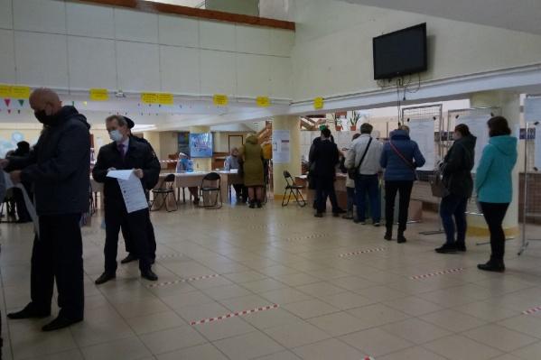 Голосование идет с 08:00 утра. Так голосуют во Дворце детского и юношеского творчества