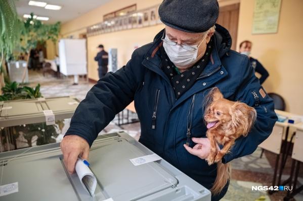 """По данным на 18:00 <nobr class=""""_"""">19 сентября</nobr>, явка избирателей в Кузбассе составила почти 70%"""