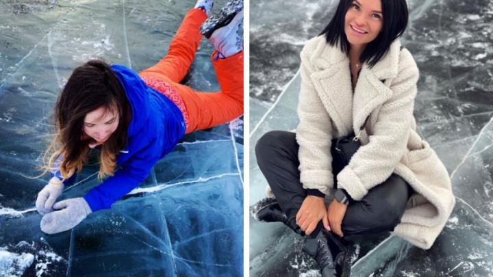 «Байкал в Удачном»: Instagram красноярцев заполонили необычные фотосессии