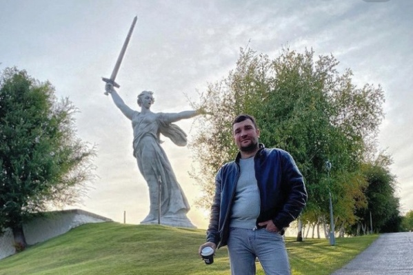 Аркадий вдохновился городом на Волге