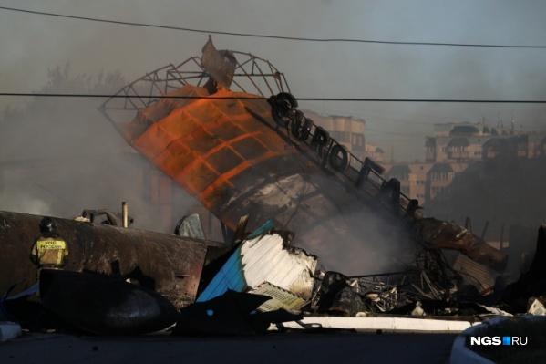 Мужчина смог убежать от эпицентра взрыва, но все равно получил ожог 5% тела