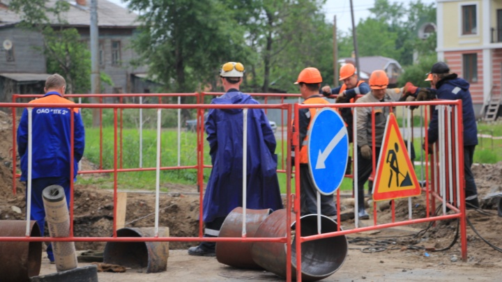Власти Архангельска сообщили, что горячая вода вернулась в более чем 70% домов