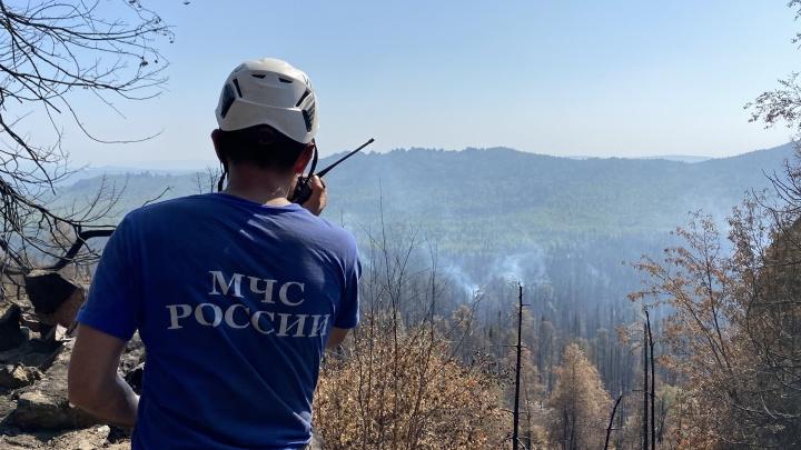 Власти Башкирии рассказали, когда потушат лесные пожары в Башкирии. А пока горит природный парк «Зилим»
