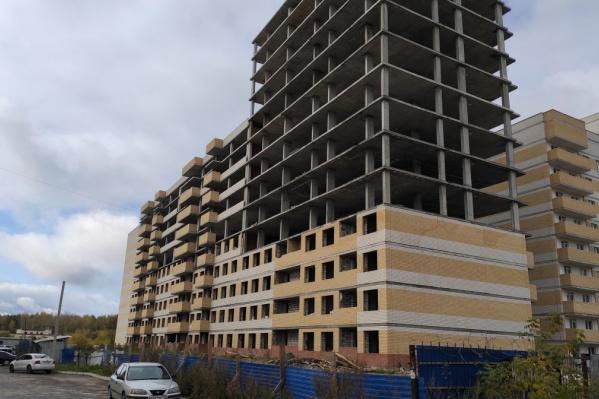 Три дома жилого комплекса все-таки достроят