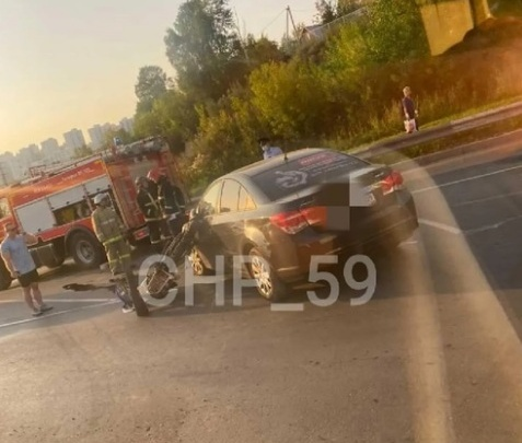 В Перми возбудили уголовное дело после гибели мотоциклиста в ДТП
