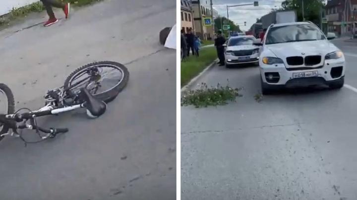 В Новосибирске BMW X6 насмерть сбил ребенка на велосипеде