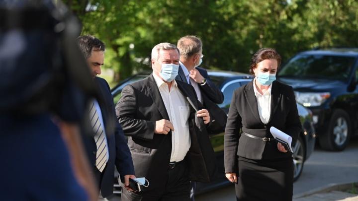 Голубев выделил компенсации семьям погибших под Таганрогом