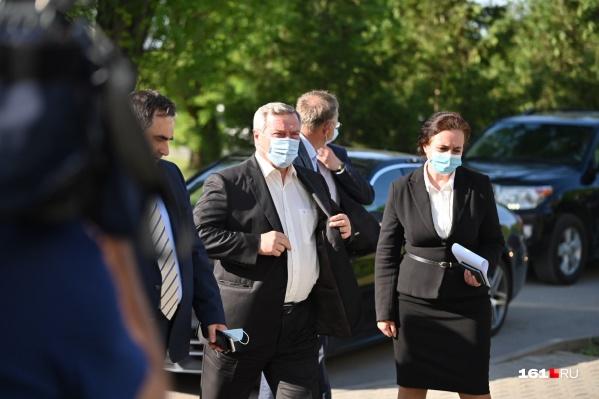 21 мая глава региона приехал в Таганрог из-за аварии на очистных сооружениях