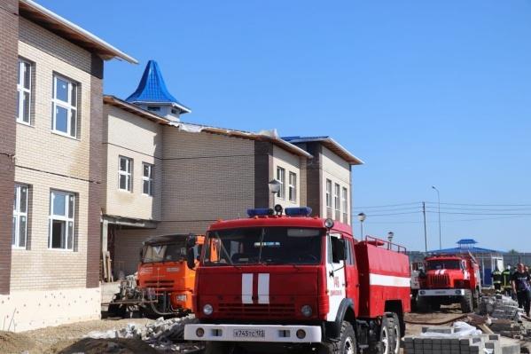 Прокуратура проведет проверку по факту пожара