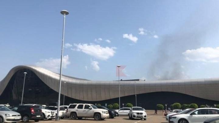 В Краснодаре 1500 человек эвакуировали из ТРЦ «Oz Молл» из-за пожара