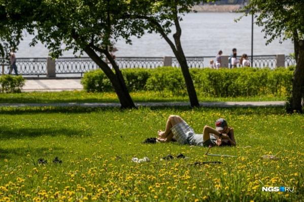 Новосибирцы недолго радовались теплой погоде
