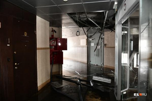 После пожара на Белинского десятки бизнесменов остались без офисов