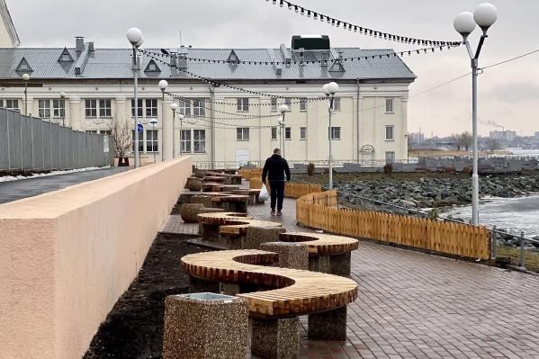 Новую набережную сделали за 25 миллионов рублей
