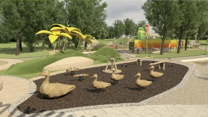 Объявлен тендер на огромную детскую площадку на Татышеве за 60 млн