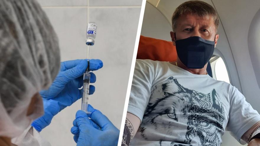 «Я сторонник ограничений»: Сергей Исаев — об отказе от вакцинации и ситуации с COVID-19 в регионе