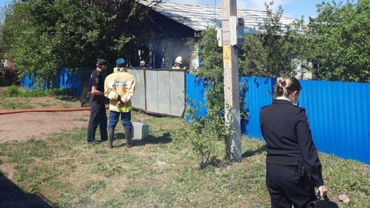 Стали известны подробности пожара в Башкирии, где погиб младенец