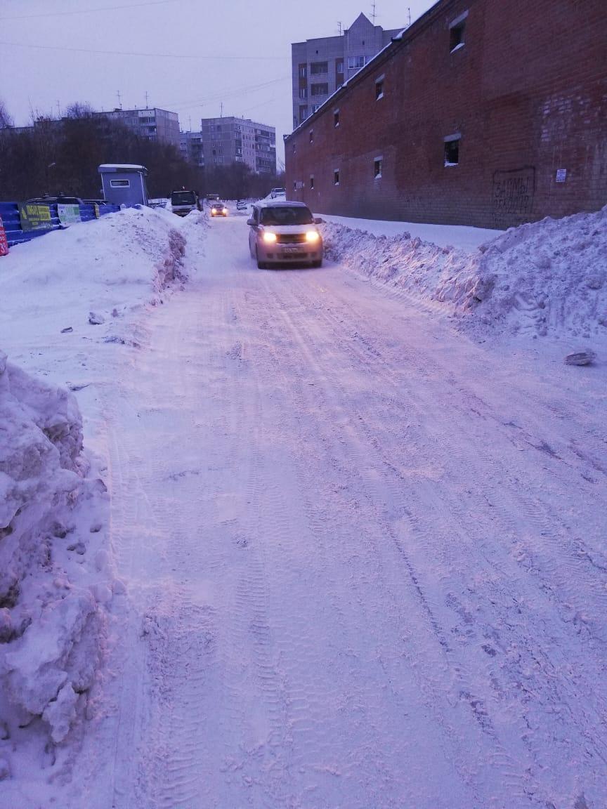 А так выглядит улица Федосеева
