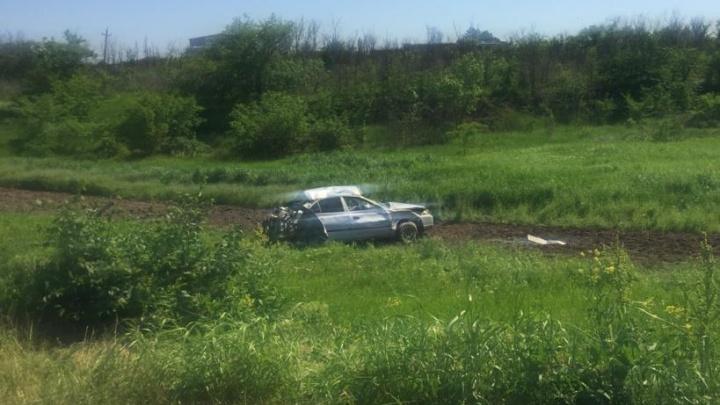 Под Сальском пятеро подростков угнали машину, перевернулись и приехали в больницу на скорой