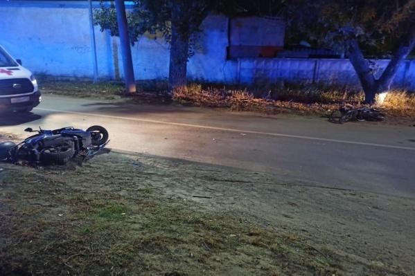 Один участник ДТП сбежал с места аварии, второй оказался в больнице