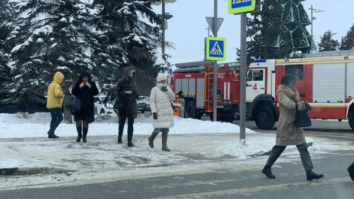 В Самаре по тревоге эвакуировали здание правительства