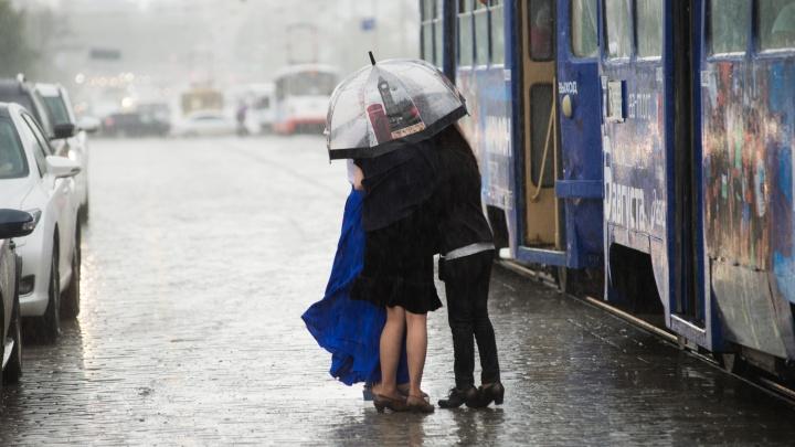 Не забудьте зонтики! В Свердловскую область придут сильные дожди