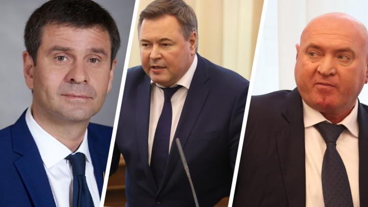 Договорились: «Единая Россия», ЛДПР и КПРФ поделили кресла вице-спикеров краевого Заксобрания