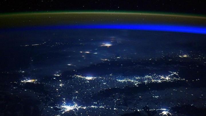Инженер МКС сфотографировал Новосибирск из космоса